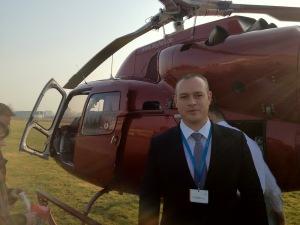 ARES MOBILITY Geschäftsführer Jan Stosshoff bei Nord Stream